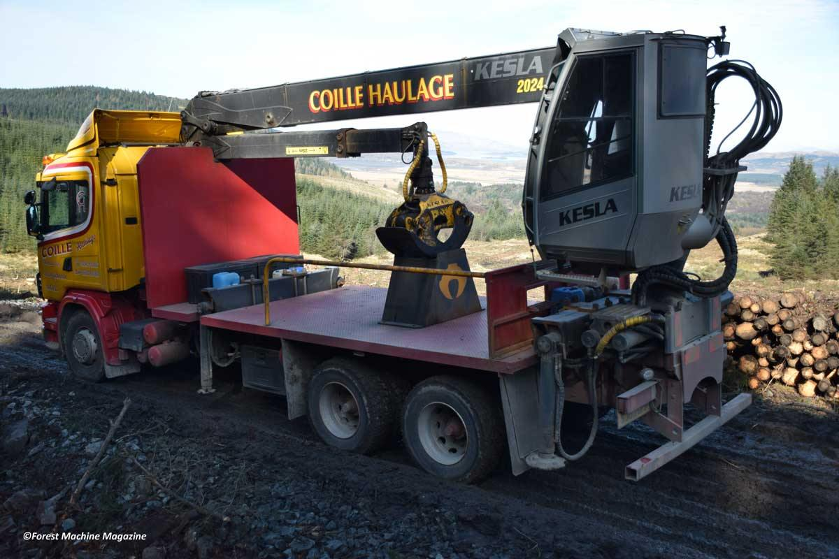 Coille-Haulage-Kesla-2020-mounted-on-a-Scania-124-Truck-11