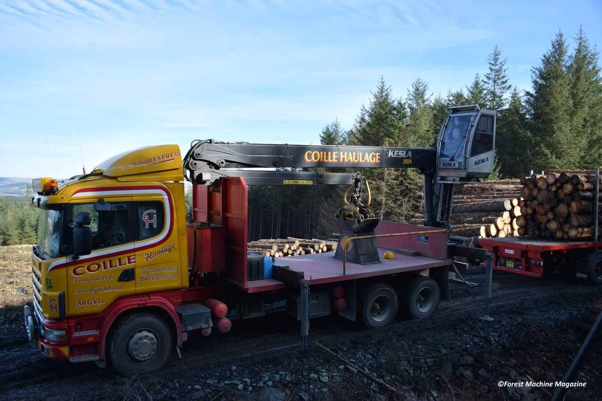 Coille-Haulage-Kesla-2020-mounted-on-a-Scania-124-Truck-7