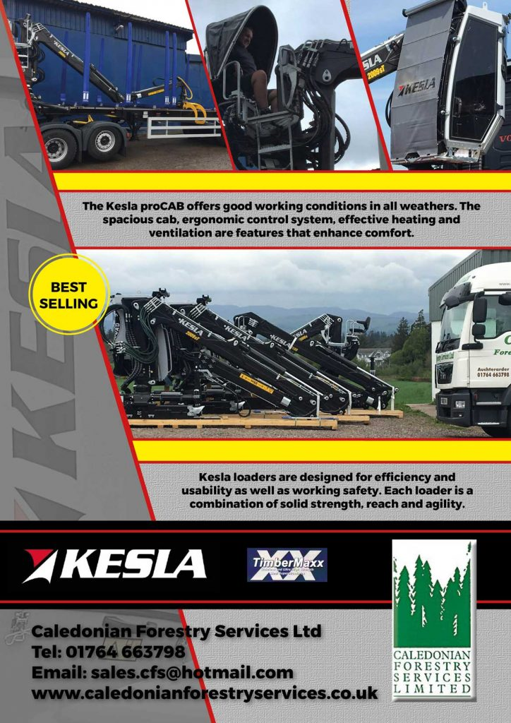 Caledonian Forestry Services Kelsa advert