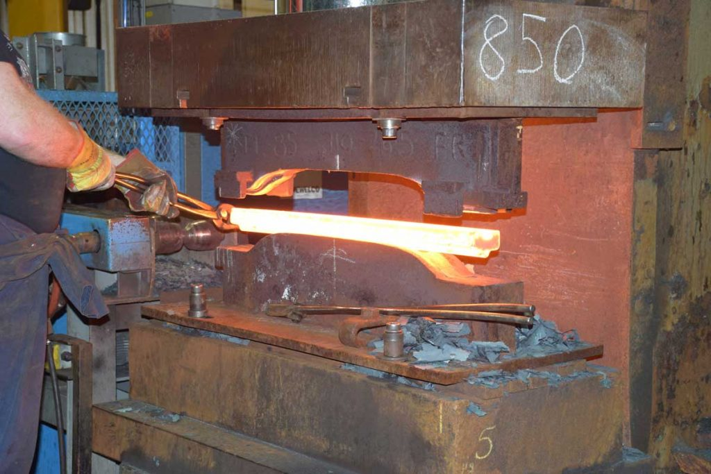 Forging paddles for band  Tracks