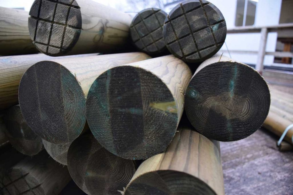 Eco-lam engineered round timber