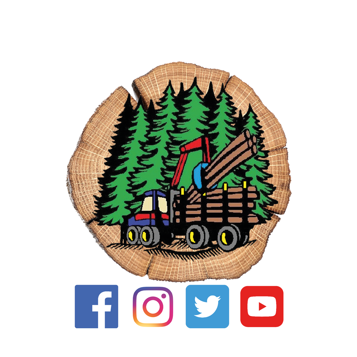 Forest Machine Magazine logo