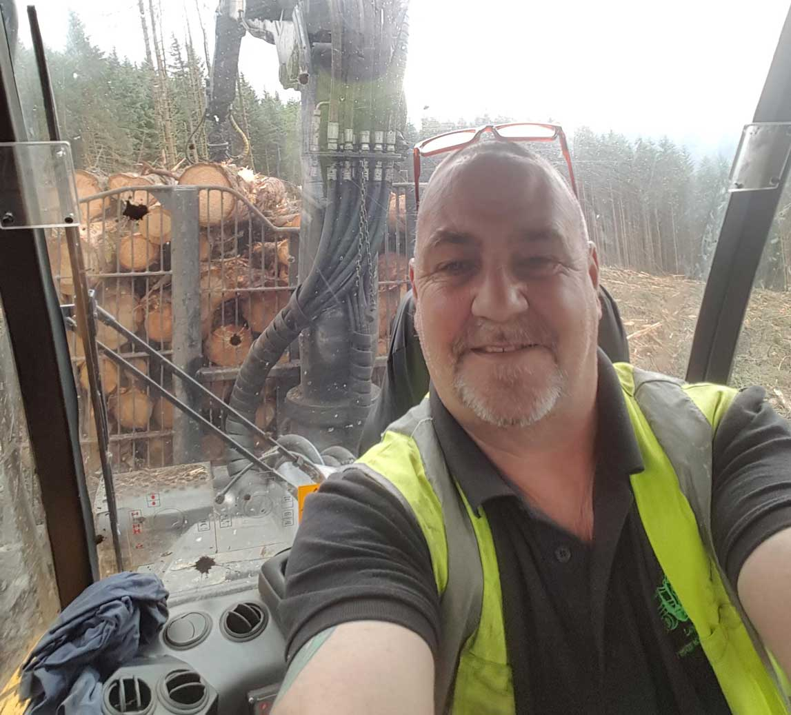 Rab Easton -Forest Machine Magazine