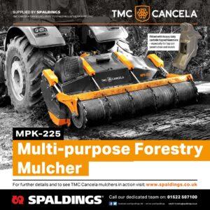Spaldings Forestry Advert