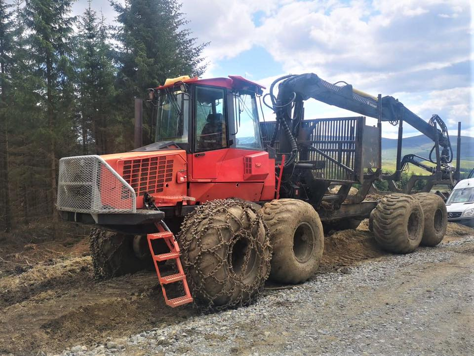 Komatsu Forwarder for sale