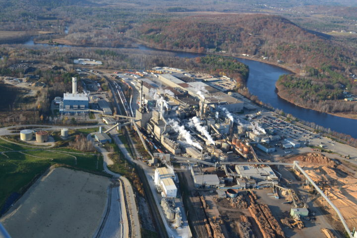Courtesy of Verso Corp. Verso Androscoggin Mill in Jay is pictured in this 2018 file photo.