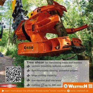 Westtech Woodcracker advert