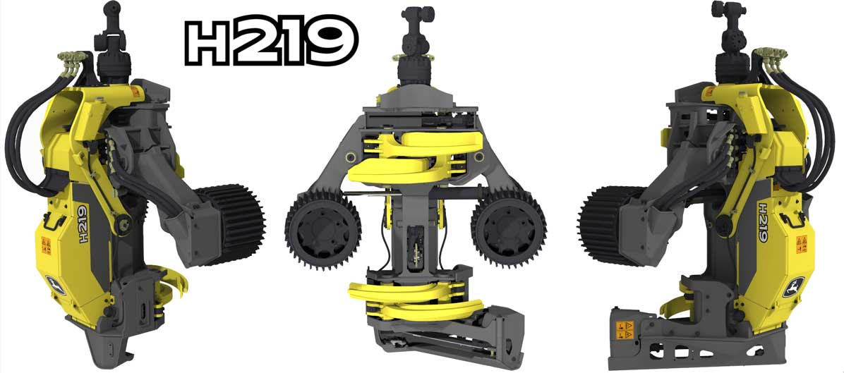 New H219 Harvester Head