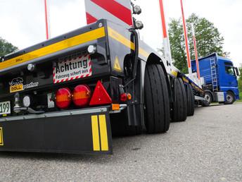 2 3-axle semi-trailers For BC-Trans