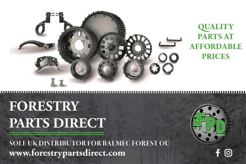 Forestry Parts Direct Advert