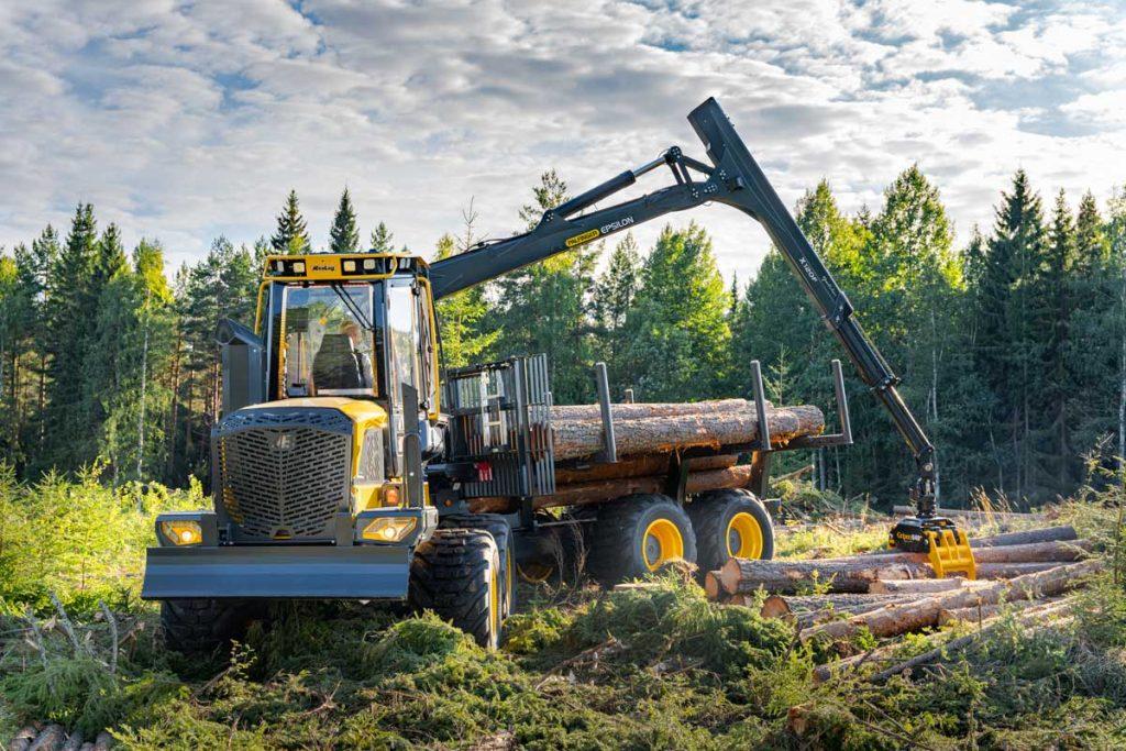 Eco Log 584 F forwarder
