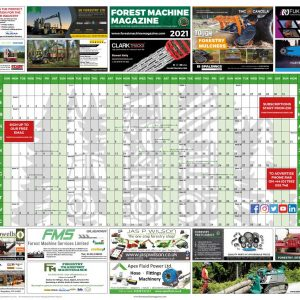 2021 Wall planner - Forest Machine Magazine