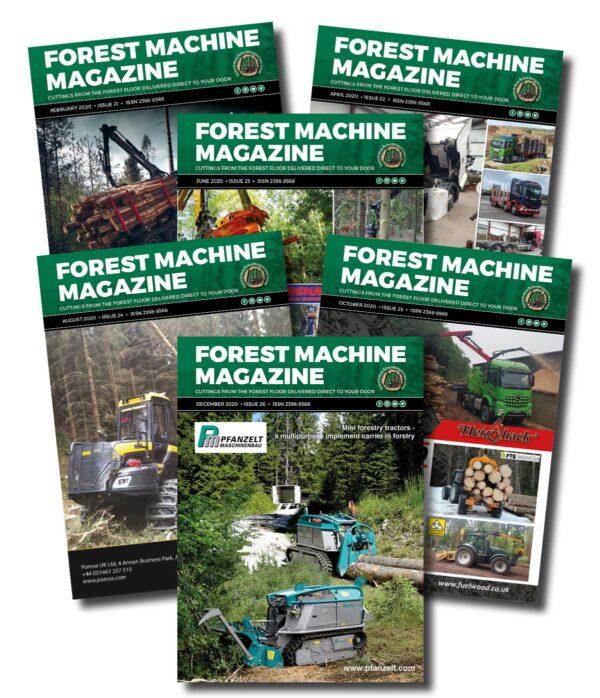 1 Year Subscription - Forest Machine Magazine