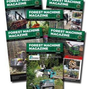 2 Years Subscription - Forest Machine Magazine