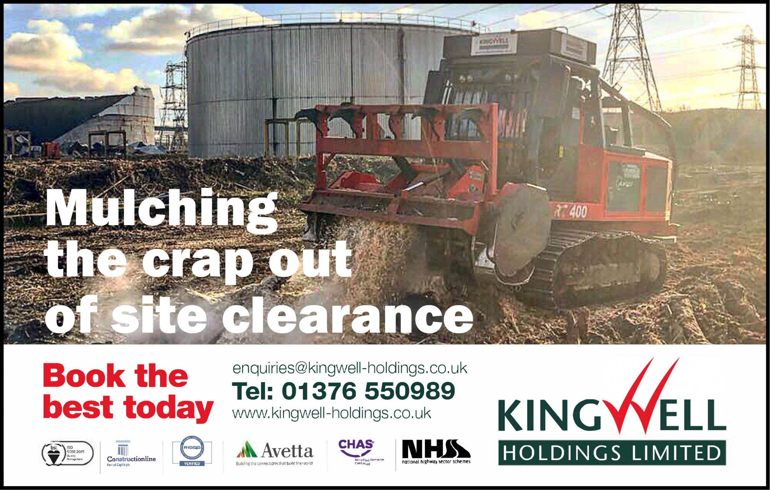 Kingwell Holding Advert