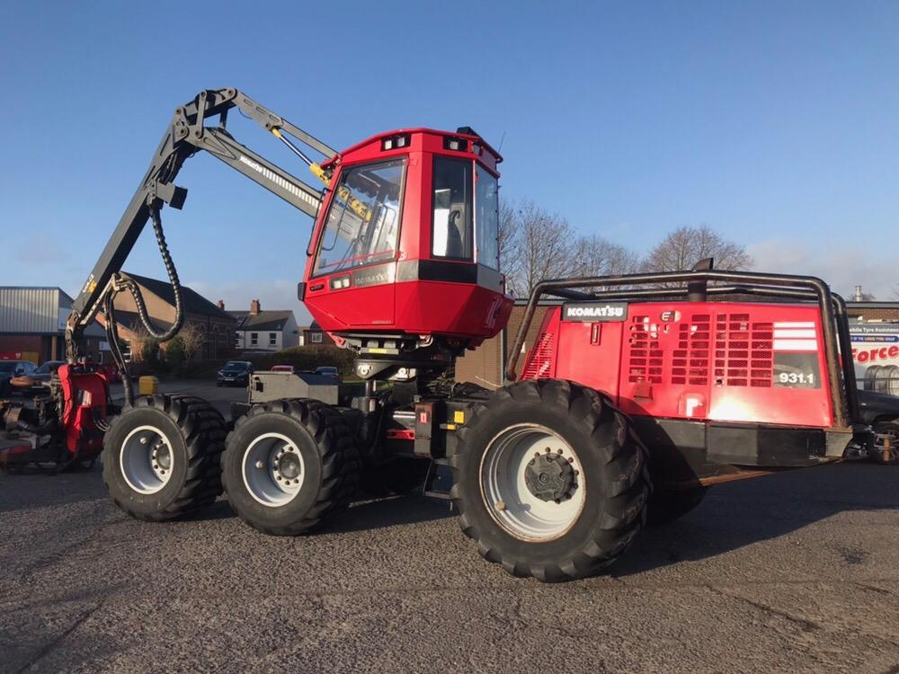 Buy used equipment - Komatsu 931.1 Harvester