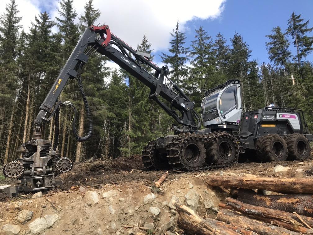 Buy Used Equipment - Logset 8H Harvester