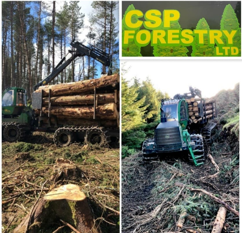 CSP Forestry require an experienced forwarder operator