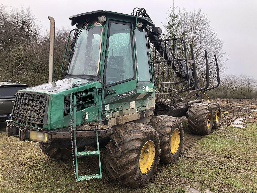 Timberjack 810B  forwarder for sale