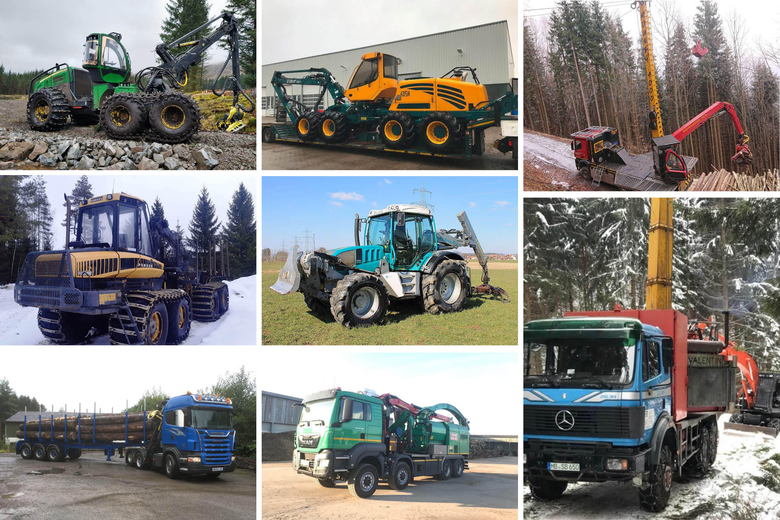 Mixed Forestry Equipment For Sale