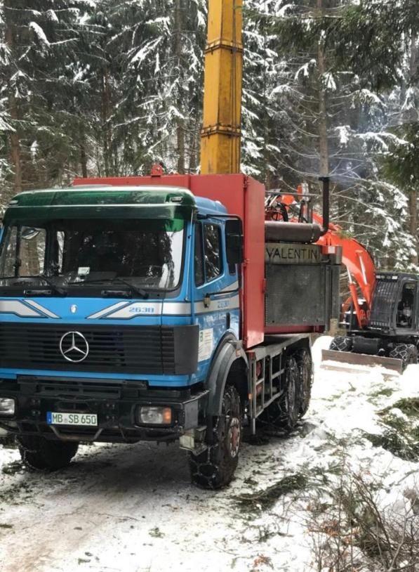 Valentini V600 incl. Bergwald Hybrid For sale