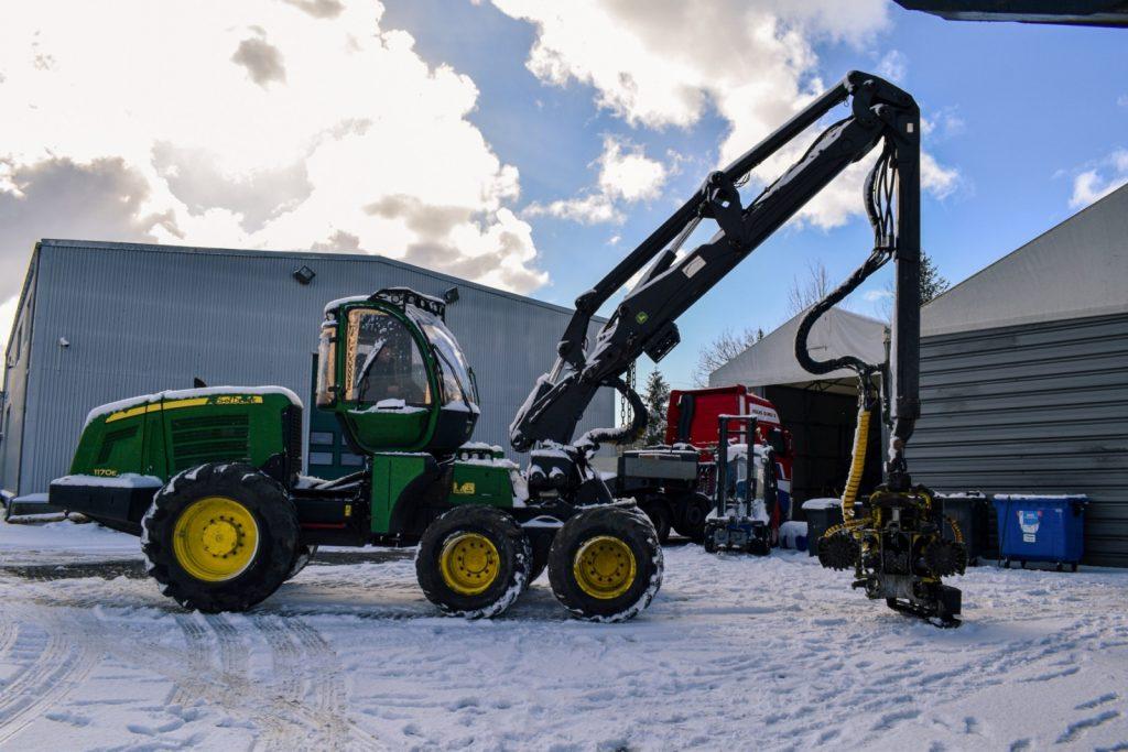 John Deere 1170E Harvester for sale
