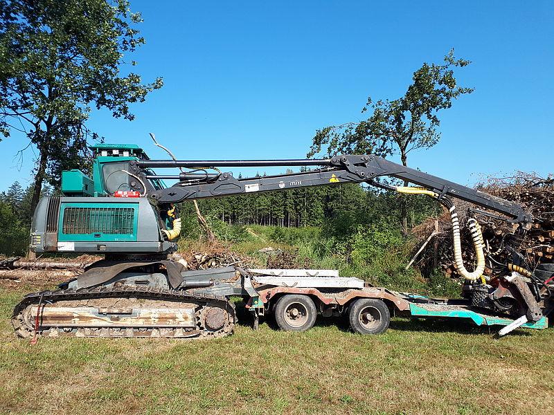 Equipment for sale - Neuson Forest 9002 HV Harvester