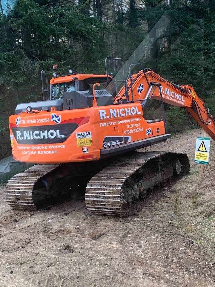 Forestry Excavator Operators