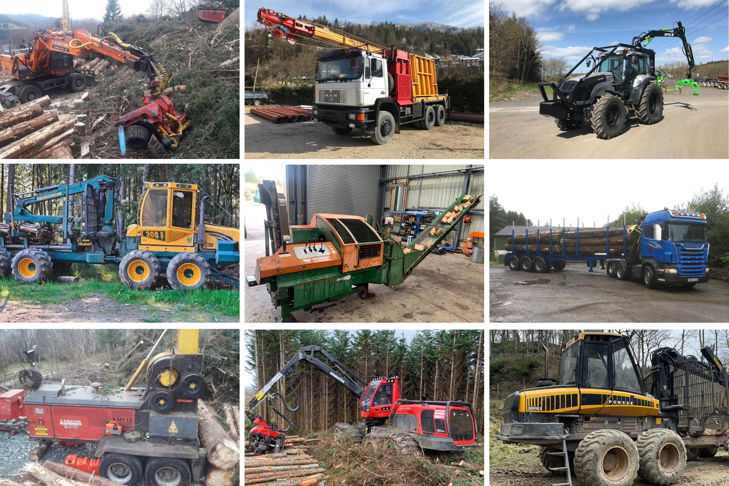latest forestry equipment for sale