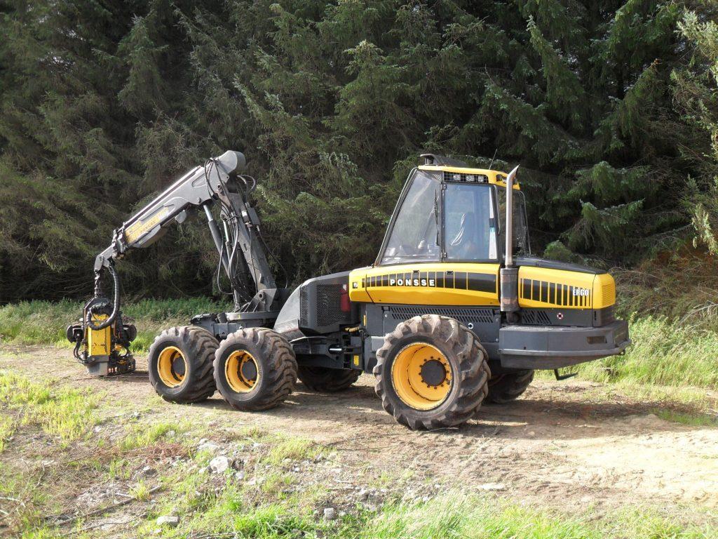 Ponsse Ergo Harvester c/w Ponsse H73e Harvesting Head