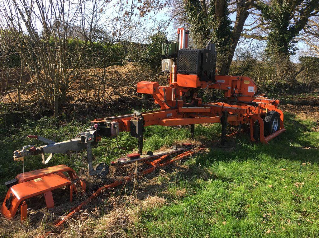 Wood-Mizer LT20 used equipment