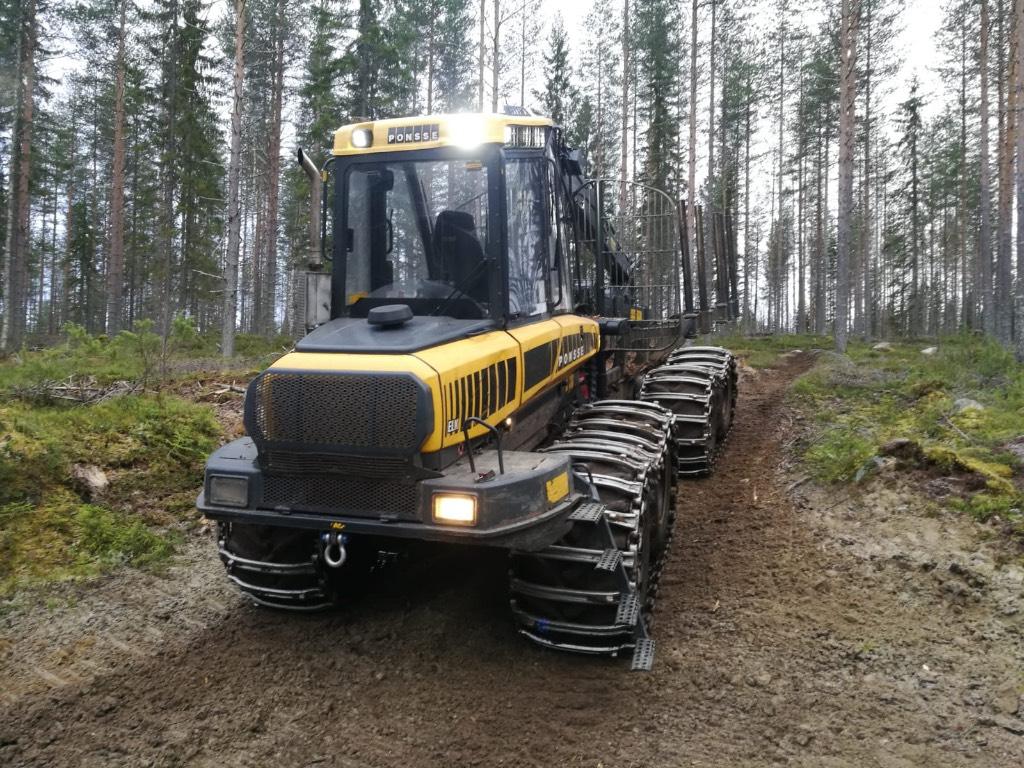 Ponsse Elk forwarder used equipment for sale