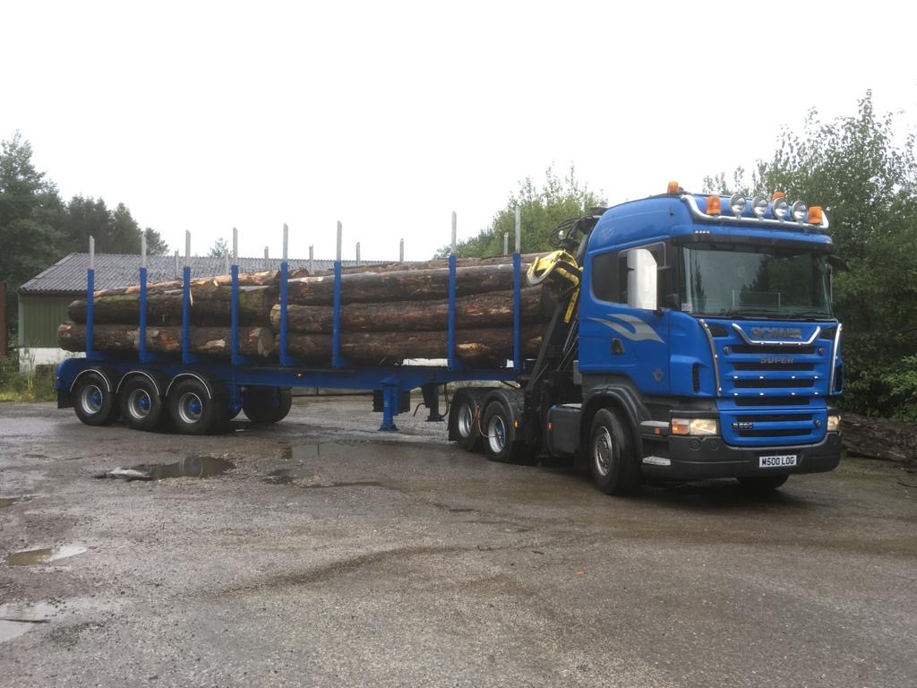 Scania R560 used forestry equipment