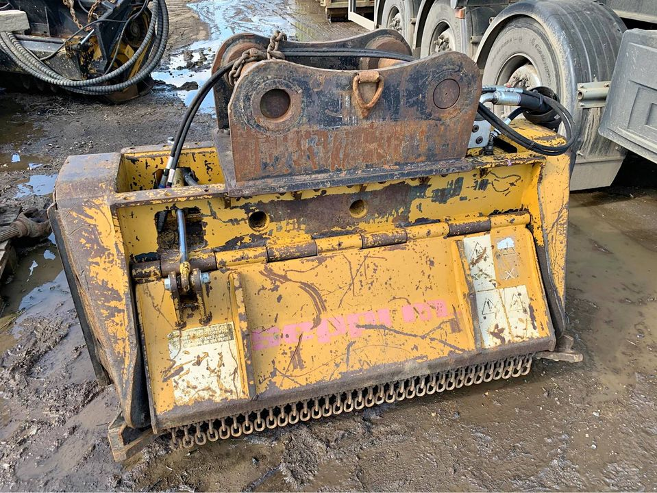 Seppi BMS125-L heavy-duty mulcher head for sale