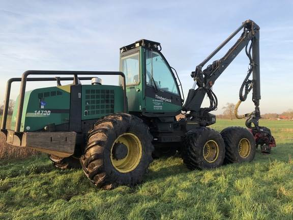 Used Timberjack 1470D Harvester