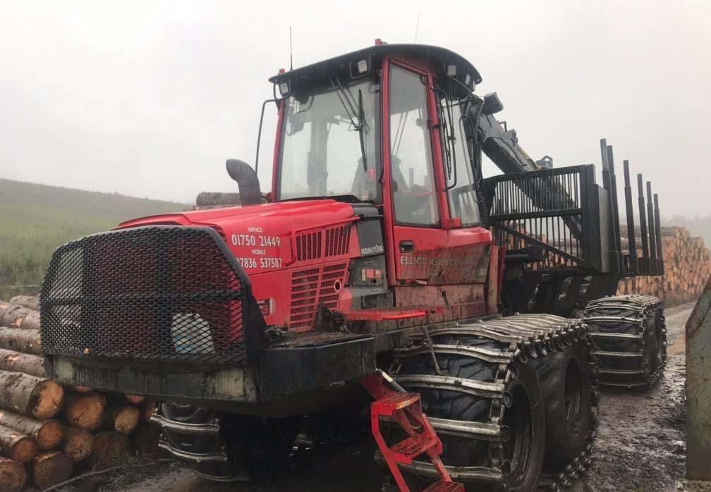 Used Komatsu 865, 8WD,