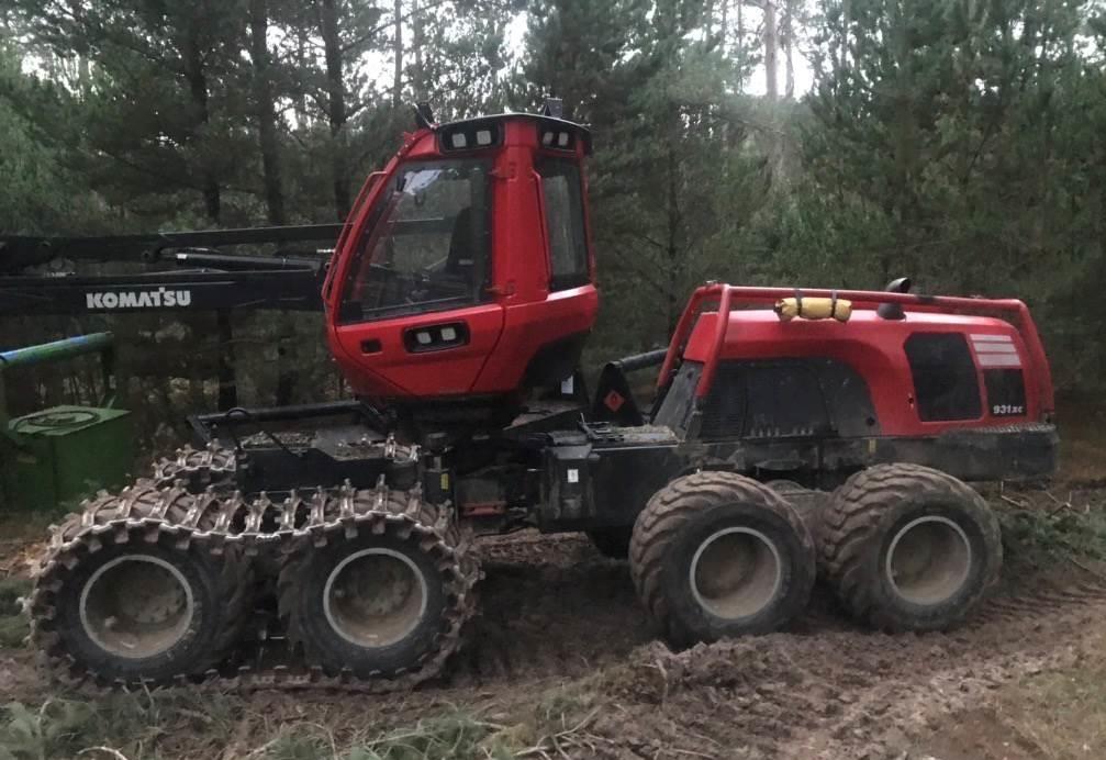 KOmatsu 931xc used equipment