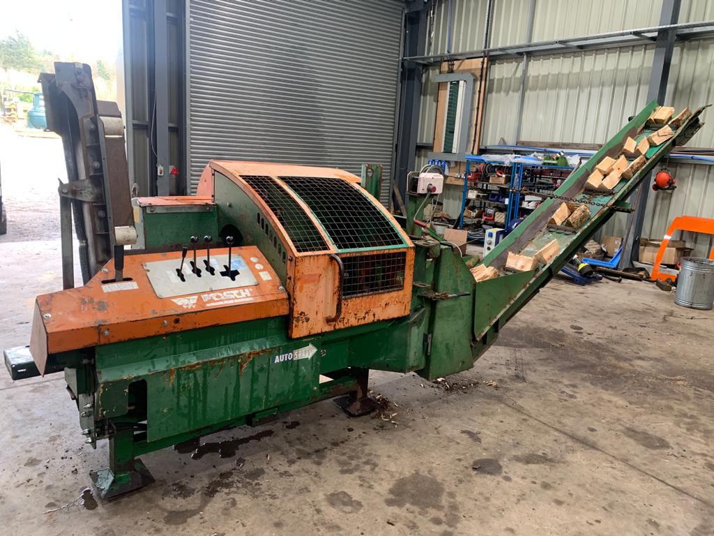 latest forestry equipment for sale - Posch  S-301 Firewood Processor PTO