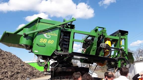 Dutch Dragon SB60 Brash Bailer - Used Forestry Machinery Equipment
