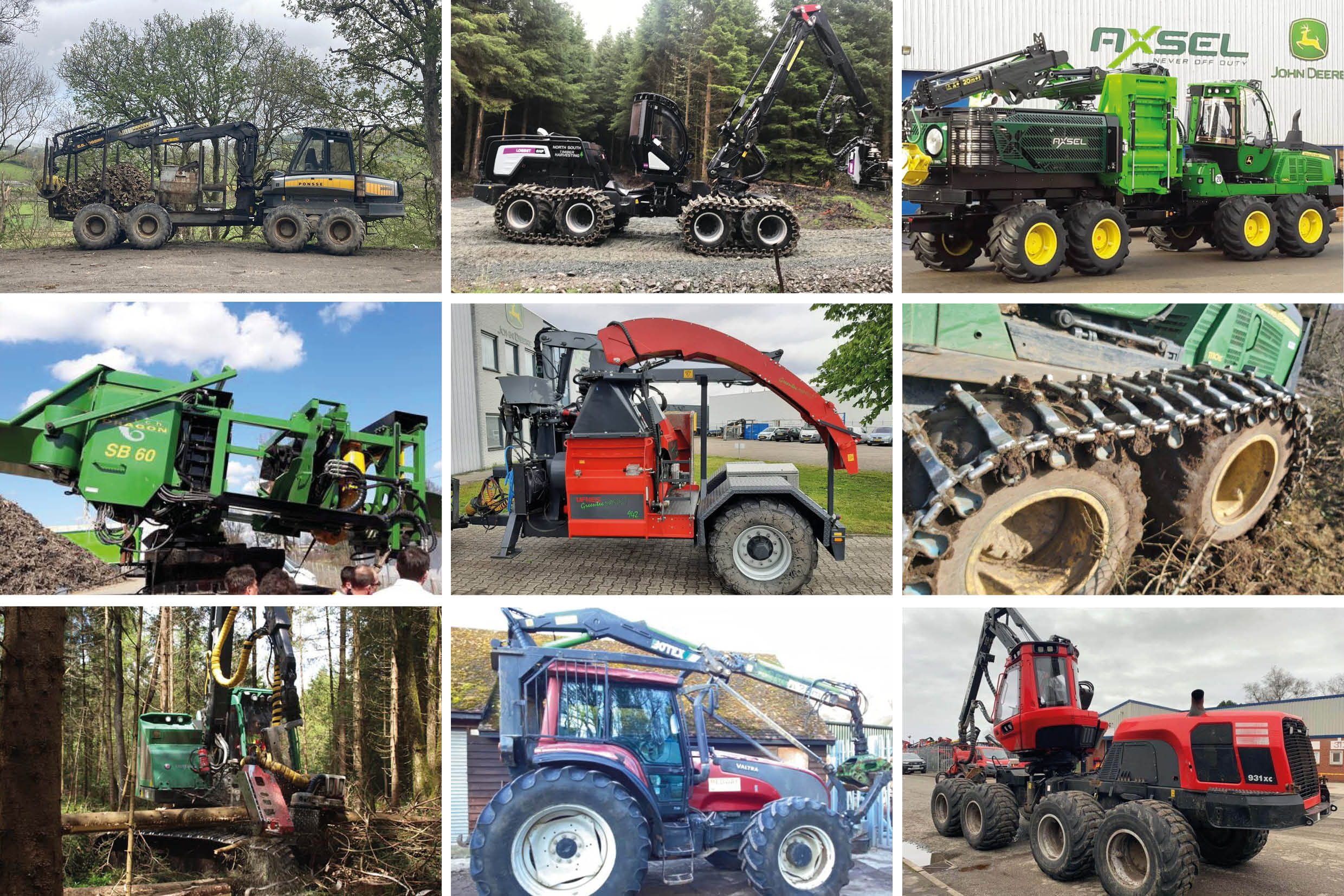 Used Forestry Machinery Equipment For Sale