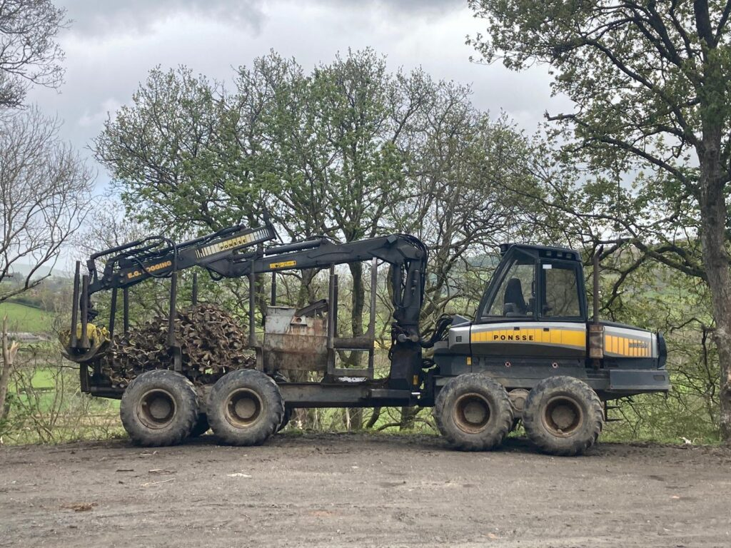 Ponsse Buffalo 35th Anniversary Jubilee Model Timber Forwarder - Used Forestry Machinery Equipment