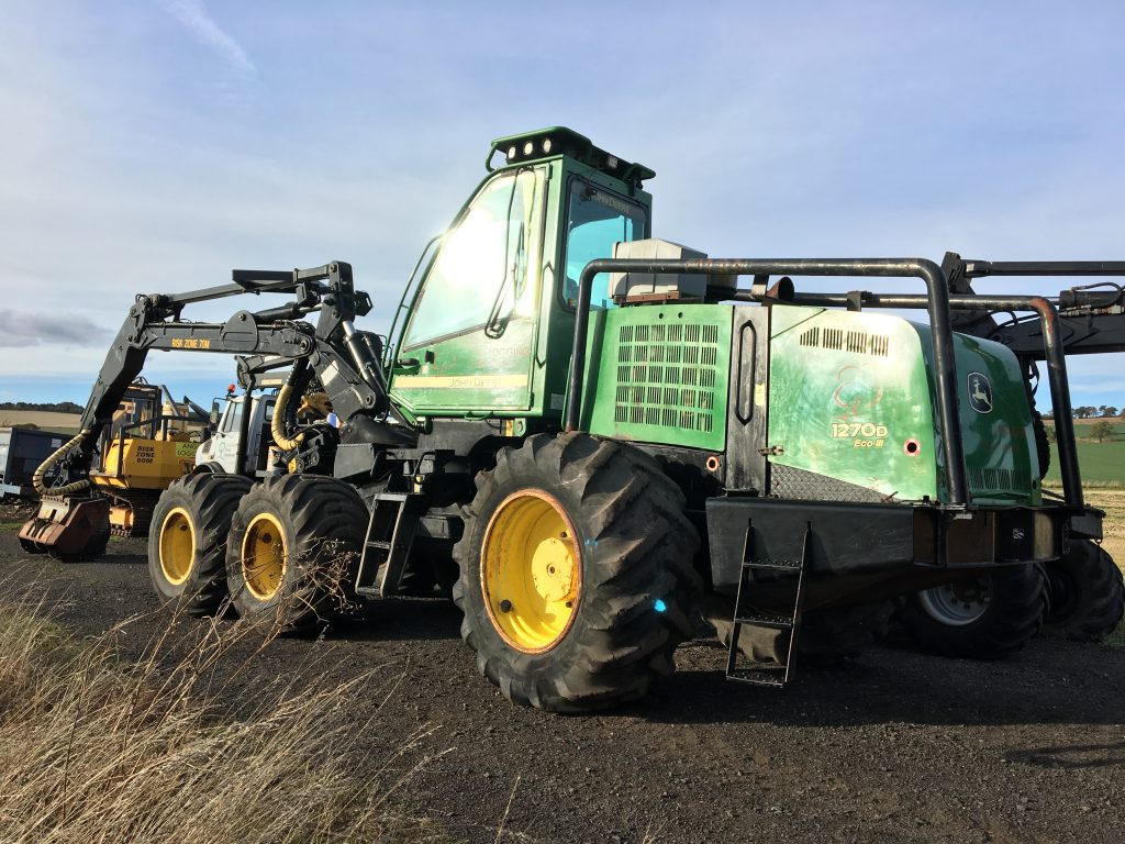 Used Forestry Equipment For Sale - John Deere 1270 Eco111
