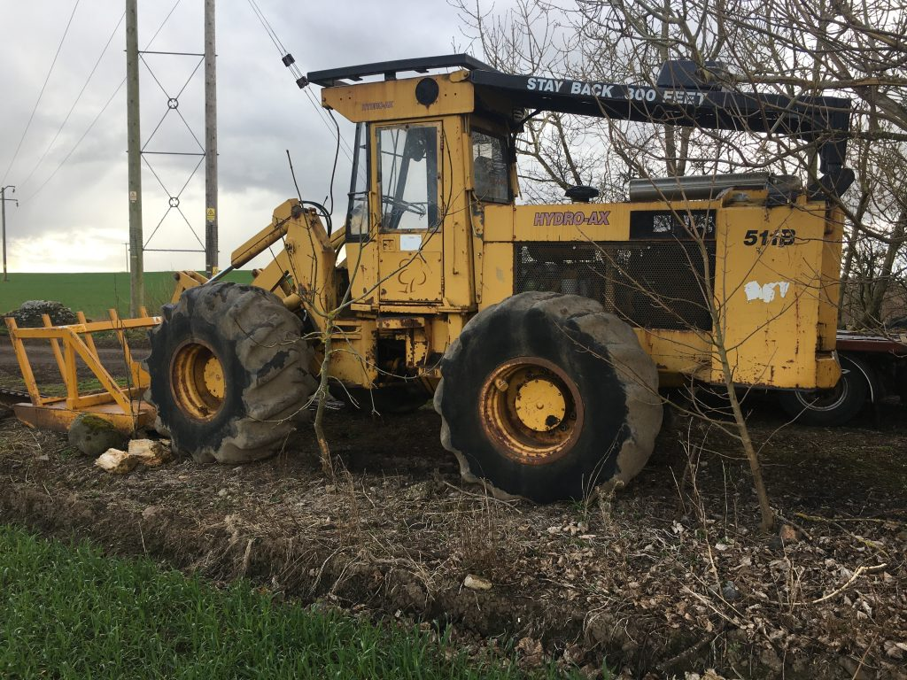 Used Forestry Equipment For Sale - Hydro Ax 511B Forestry Mulcher
