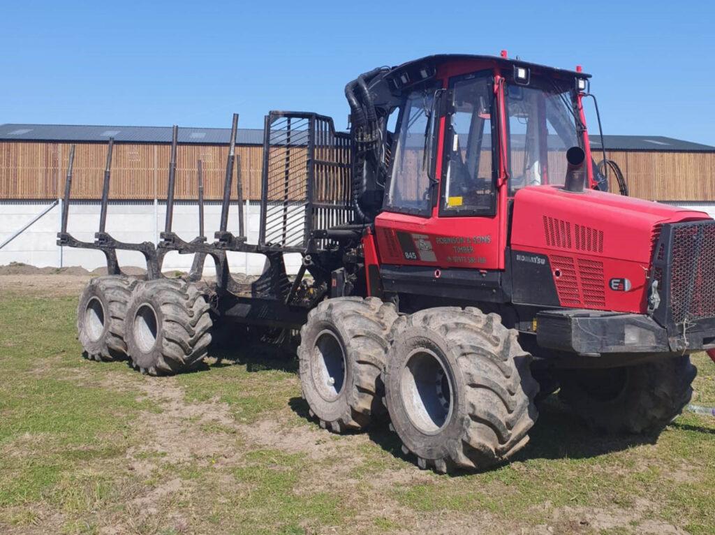 Machinery for sale - Komatsu 845 Timber Forwarder