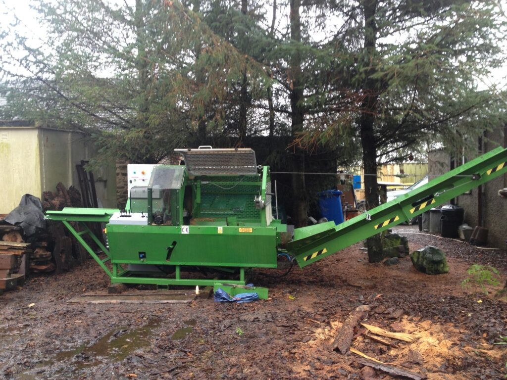 Machinery for sale - Roltrac 3ph Firewood Processor