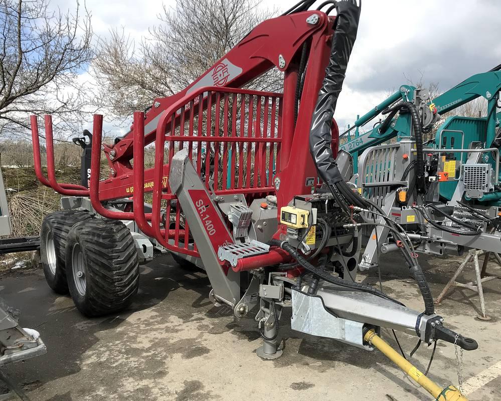2019 Schlang & Reichart SR14 15 tonne Forwarder Trailer
