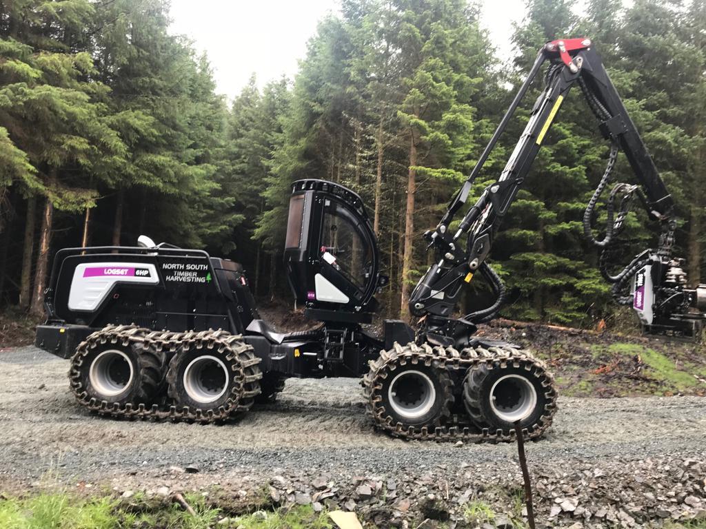 Logset 6H Harvester.