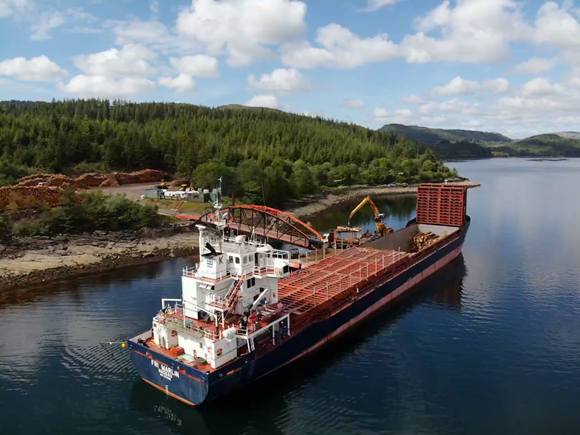 £7 Million For Timber Transport