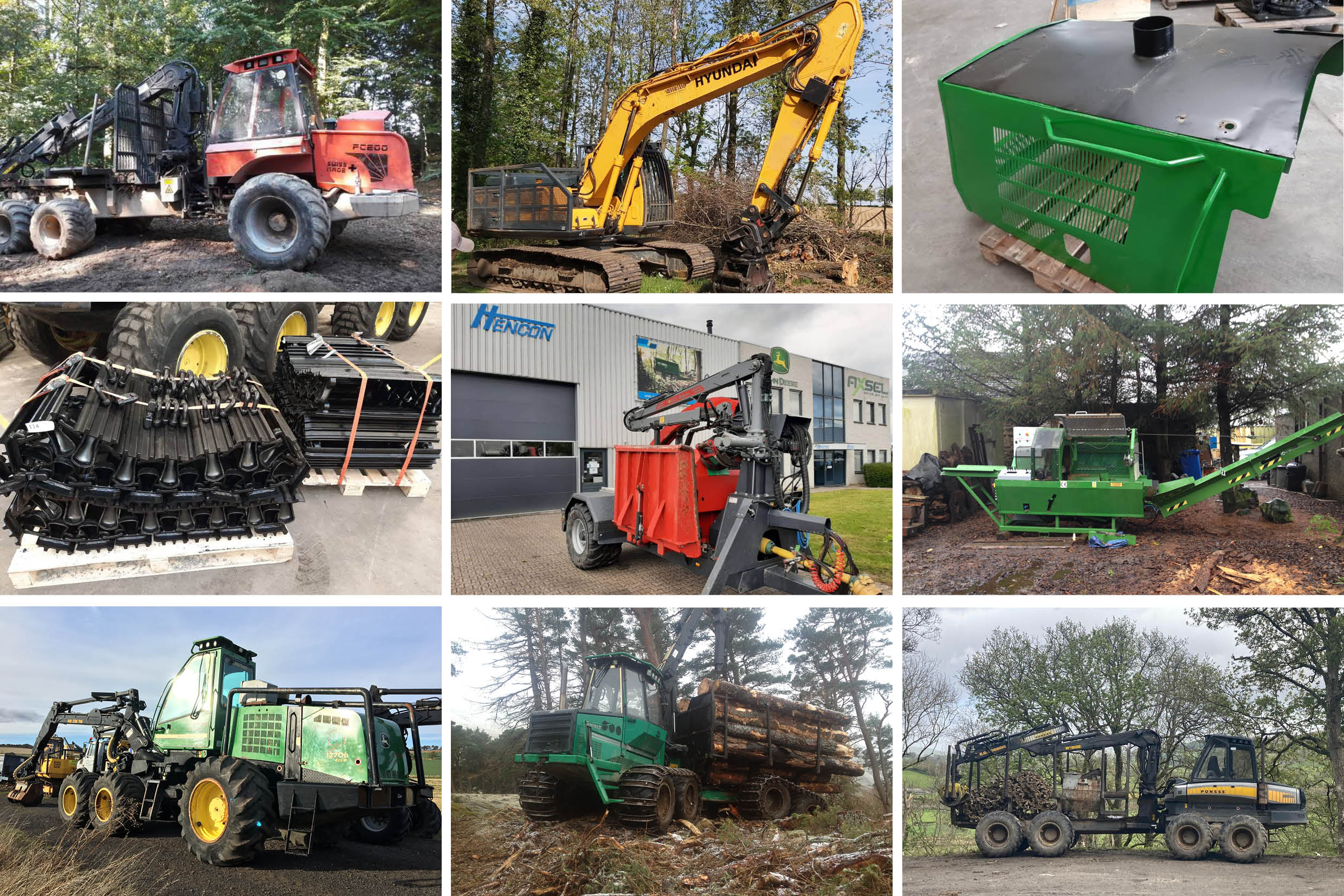 Forestry Machines For Sale