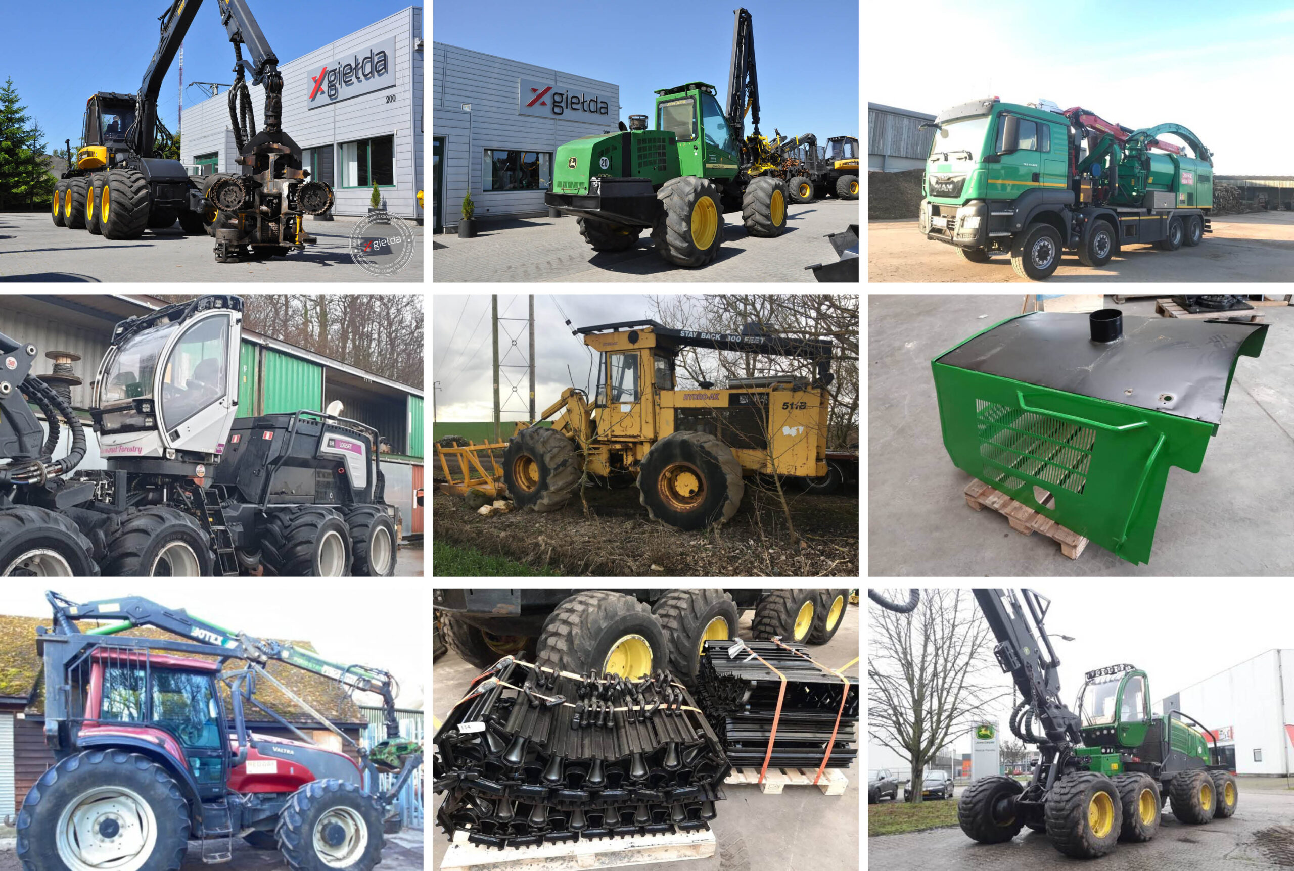 Used Forest Equipment